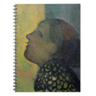 Head Raised in Profile Note Books