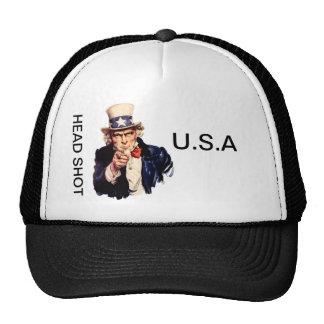 HEAD SHOT TRUCKER HATS