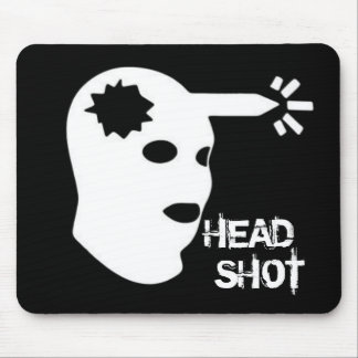 HEAD SHOT MOUSE PAD