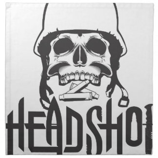 Head Shot Napkin
