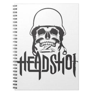 Head Shot Notebooks