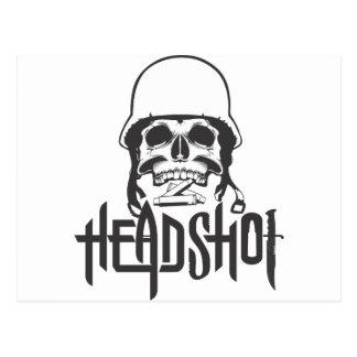 Head shot postcard