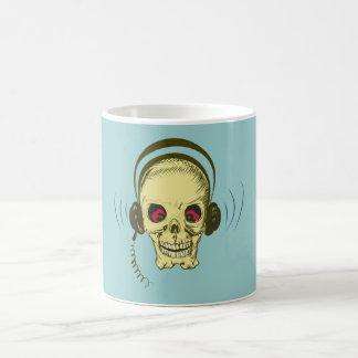 Head skull headphone skull earphones mugs