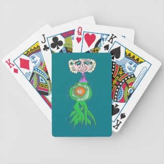 Head Sprout Bicycle Playing Cards