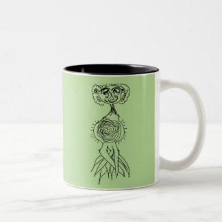 Head Sprout Two-Tone Coffee Mug
