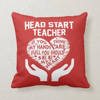 Head Start Teacher Cushion