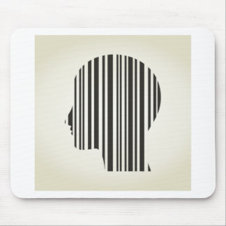 Head stroke a code mouse pad