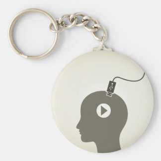 Head the computer key ring