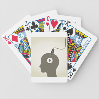 Head the computer poker deck