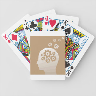 Head thinks poker deck