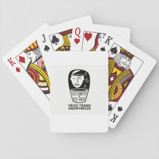 Head Trash Anonymous Playing Cards