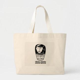Head Trash Anonymous Tote Bag