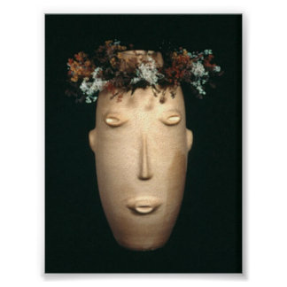 Head With Wreath Posters