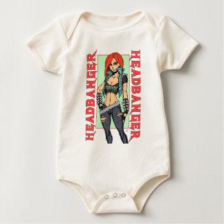 Headbanger Baby Bodysuit