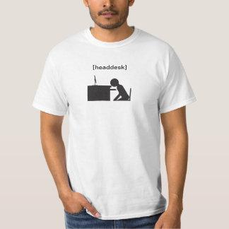 headdesk (reverse) shirt