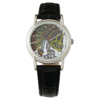 Headdress Skull Watch