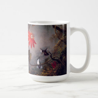 Heade Hummingbird Birds Passion Flowers Mug