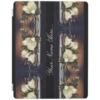 Heade Magnolia Flowers Floral Trim Ipad Cover