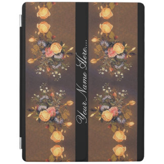 Heade Roses Flowers Floral Trim Ipad Cover
