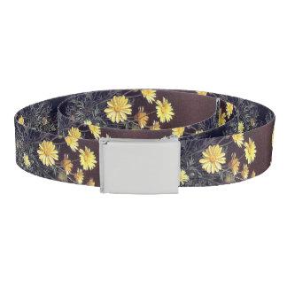 Heade Summer Daisy Flowers Floral Belt