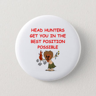 HEADHUNTER.png 6 Cm Round Badge