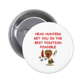 HEADHUNTER.png 6 Cm Round Badge
