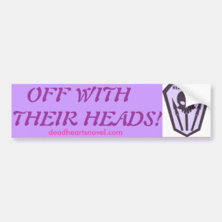 Headhunters bumper sticker - Dead Hearts Novels