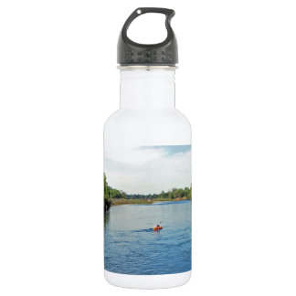 """heading down river"" collection 532 ml water bottle"