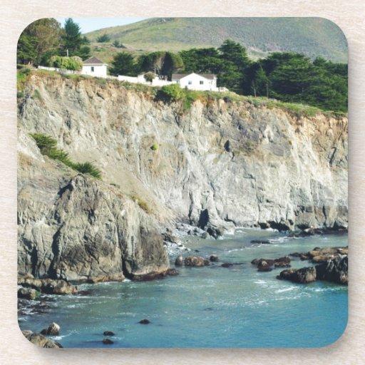 Headlands Northern California Oceanside Drink Coaster