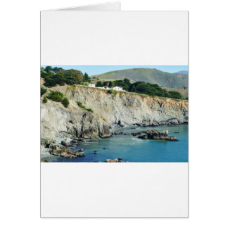 Headlands Northern California Oceanside Greeting Card