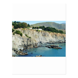 Headlands Northern California Oceanside Postcard