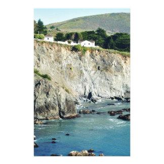 Headlands Northern California Oceanside Stationery Paper