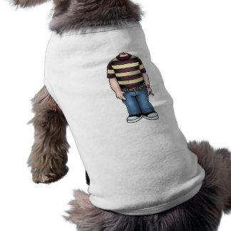 headless-boy-T Sleeveless Dog Shirt