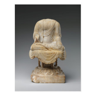 Headless Buddha - Tang dynasty (618–907) Postcard