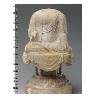 Headless Buddha - Tang dynasty (618–907) Spiral Notebook