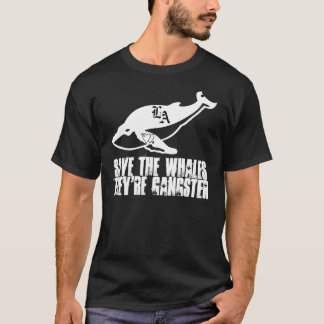 Headless Cow Productions' Gangster Whales Shirt