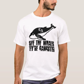 Headless Cow Productions' Save the whales Shirt