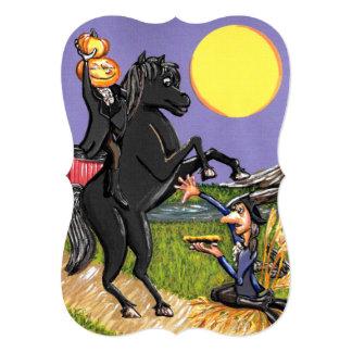 Headless Horseman Ichabod Crane Invitation Bracket
