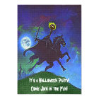 Headless Horseman in the Blue Light Card