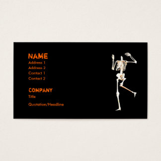 Headless Skeleton - Business Business Card