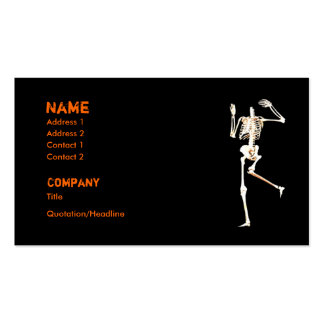 Headless Skeleton - Business Business Card Templates