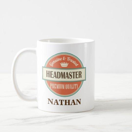 Headmaster Personalised Office Mug Gift