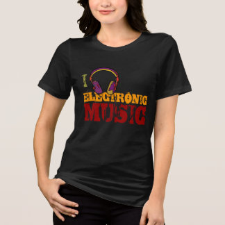 headphone electro music lover T-Shirt