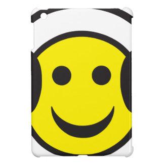 Headphone Smiley Face Rave iPad Mini Covers