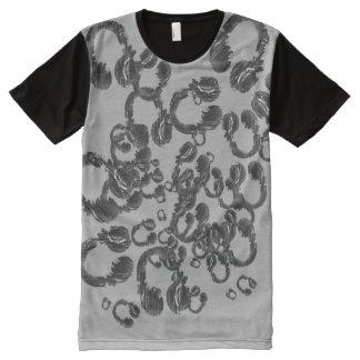 headphones All-Over print T-Shirt