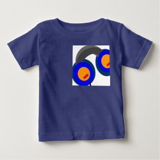 Headphones in my pocket, I am set.. Baby T-Shirt