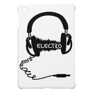Headphones Kopfhörer Audio Wave Electro Elektro Mu iPad Mini Case