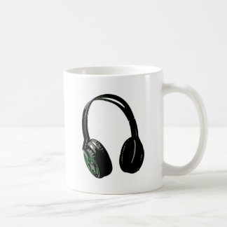 Headphones Pop Art Mug