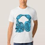 Headphones Sketchbook T Shirt