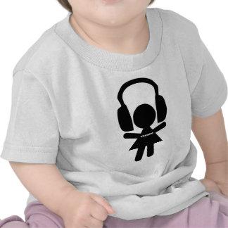 Headphones Techno Music T Shirt